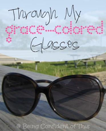 perfectionism, grace, through my grace-colored glasses, work in progress