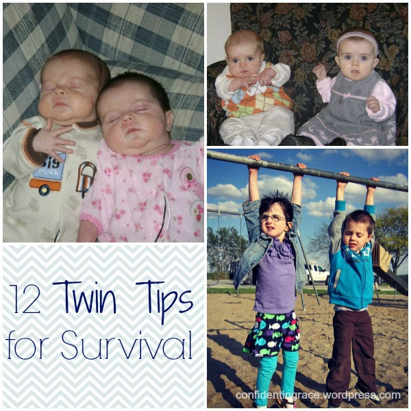 twins collage