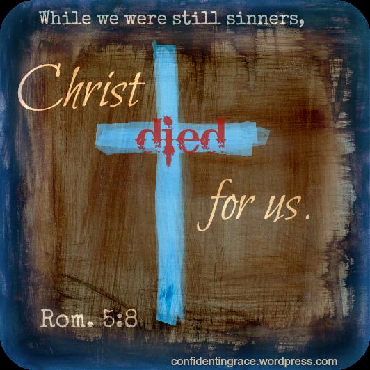 while we were still sinners