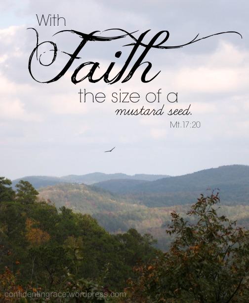Faith the size