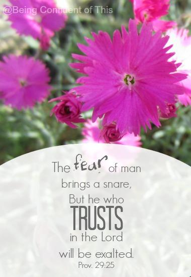 Fear versus Trust