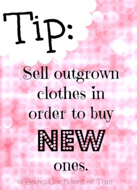 9 Ways to Save on Kids' Clothes, saving money, children's clothing, frugal living, single income