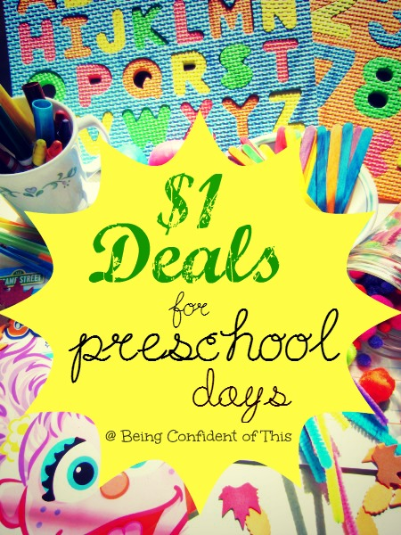 dollar store deals for homeschooling, preschool, toddlers, crafts, learning