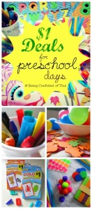 dollar store deals, cheap homeschool supplies, early childhood education, preschool, toddler