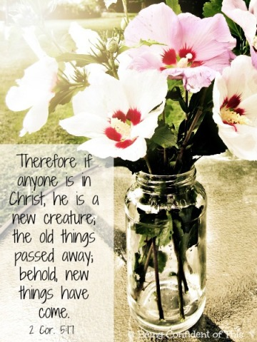 that girl, new creation, identity in Christ, finding confidence,
