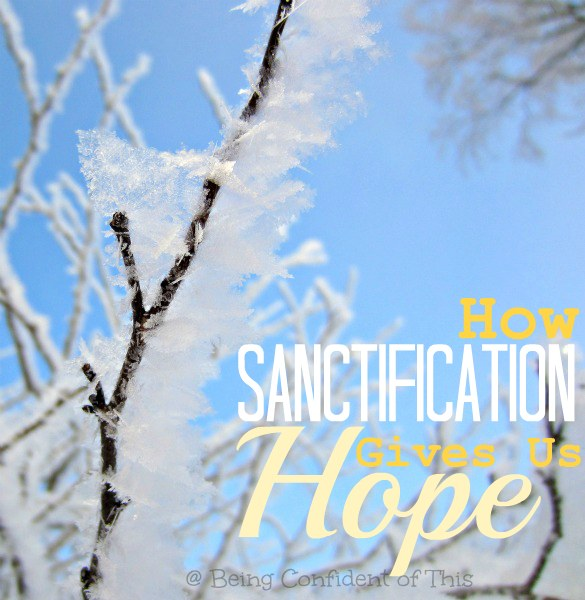 How-Sanctification-Gives-Us-Hope, sanctification, set-apart, identity in Christ, preach-the-gospel-to-yourself-series, gospel words,