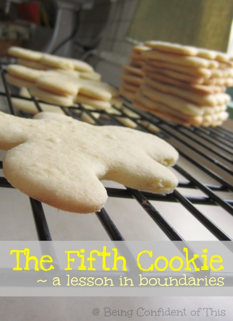 the fifth cookie lesson in boundaries, when-God-says-no, why-God-says-no, obeying-God-in-what-we-eat, healthy-living, obedience, watching-your-weight, making-healthy-choices, persevering-in-weight-loss
